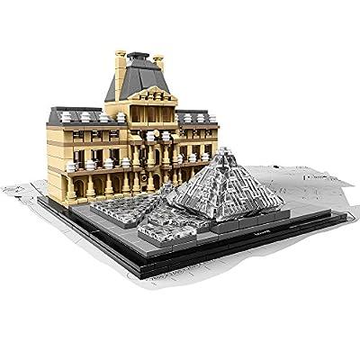 LEGO Architecture 21024 Louvre Building Kit: Toys & Games