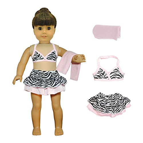 Doll Clothes Swimsuit Blanket American product image