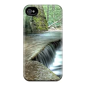 ENnkl42915NmhhF GeorgeLife Stream Under The Bridge Durable Iphone 4/4s Tpu Flexible Soft Case