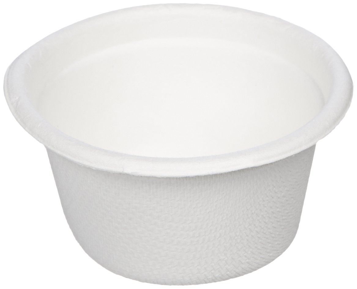 AmazonBasics Compostable Sample Food Cups, 2 oz, 2,000-Count