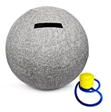 Stability Ball Chair For Office and Home Ergonomic Seating / Labor Birthing Pregnancy / Yoga Balance Stability Exercise Fitness