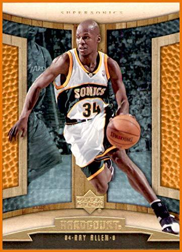 - 2006-07 Upper Deck Hardcourt #89 Ray Allen SEATTLE SUPERSONICS CONNECTICUT HUSKIES UCONN