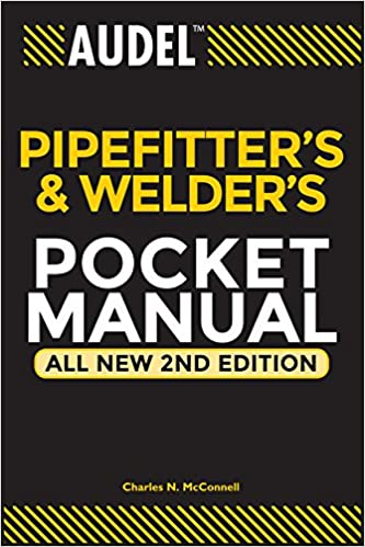 audel pipefitter s and welder s pocket manual mcconnell charles n