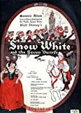 img - for Walt Disney's Snow White and the Seven Dwarfs: Souvenir Album of Words and Music (Piano-Vocal Score) book / textbook / text book