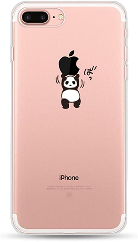 Freessom Coque Iphone 6 Plus 6s Plus Silicone Transparente Motif