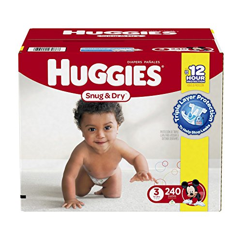 Huggies Snug & Dry Diapers - Size 4  by Kimtech