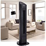 35 Black LED Digital Remote Control Tower Fan - By Choice Products