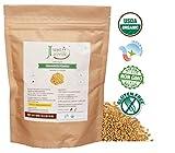 Kyпить Just Jaivik 100% Organic Fenugreek Powder- 0.5 LB / 227g / 08 oz- USDA Certified Organic - Trigonella Foenum Powder- Methi Powder на Amazon.com
