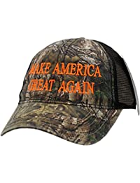 Make America Great Again Hat Velcro Back Camouflage Mesh PE100111