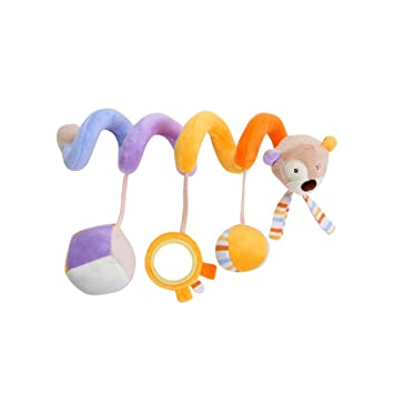 Juguete Colgantes Espiral del Animales para Cochecito,Cama, Cuna a Bebe ,GZQES,