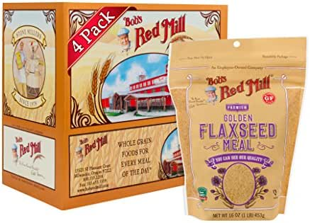 Flours & Meals: Bob's Red Mill Golden Flaxseed Meal
