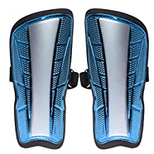 MagiDeal Adults Kids Football Soccer Shin Pads Guards Leg Calf Armor Protective Gear - 3 Colors Available