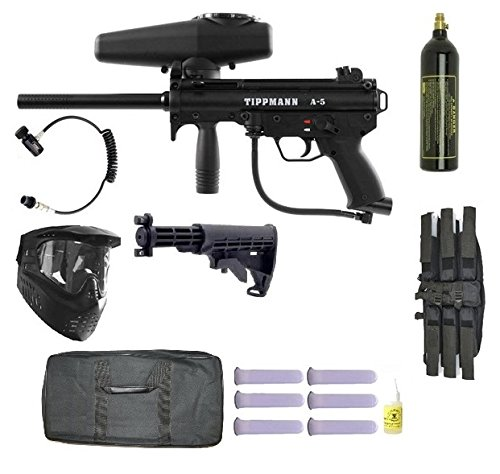 Tippmann A5 Sniper Paintball Gun Kit by Tippmann