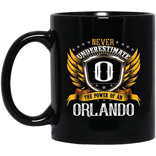 Men's Never Underestimate The Power Of An ORLANDO Mug 11oz