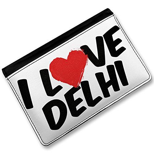 Delhi Cover (RFID Passport Holder I Love Delhi, Cover Case / Wallet -)