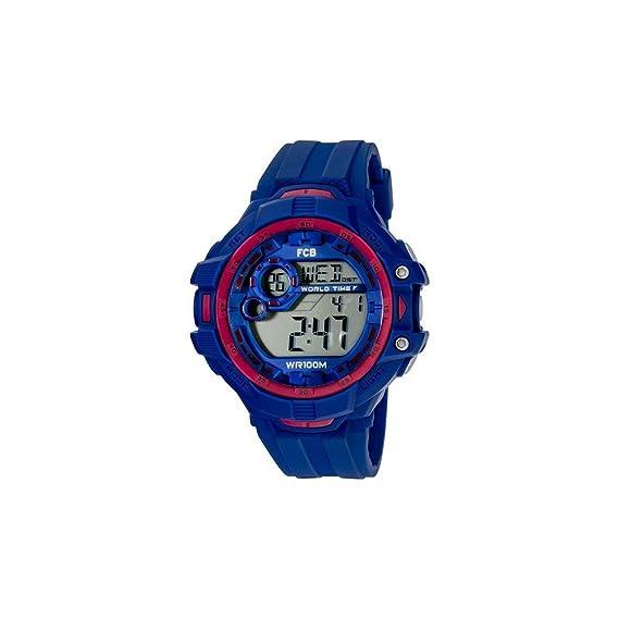 Radiant Reloj Hombre de Digital con Correa en Caucho BA07601: Amazon.es: Relojes