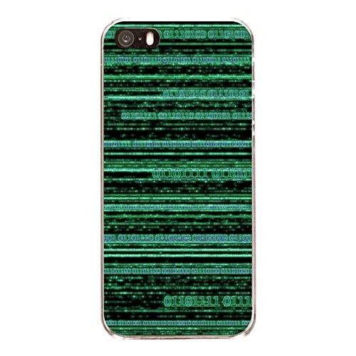 "Disagu Design Case Coque pour Apple iPhone SE Housse etui coque pochette ""Binary Code"""