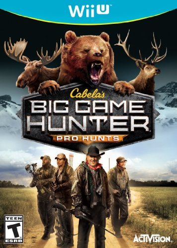 Cabelas: Big Game Hunter Pro Hunts - Wii U by Activision by Activision