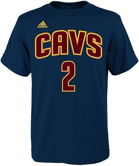 adidas Kyrie Irving Cleveland Cavaliers Azul Marino Youth Nombre y número Jersey Camiseta