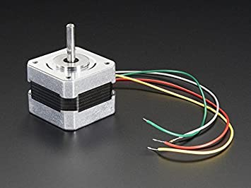AdaFruit (PID 324 - Motor Paso a Paso (tamaño NEMA-17, 200 Pasos ...