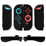 Cheap TNP Joy-Con Grip Gel Guards with Thumb Grips Caps for Nintendo Switch – Protective Case Covers Anti-Slip Ergonomic Lightweight Joy Con Comfort Grip Controller Skin Accessories (1 Pair Black)