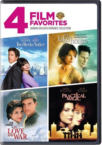 4 Film Favorites: Sandra Bullock (In Love and War, The Lake House, Practical Magic, Two Weeks Notice) from Warner Manufacturing