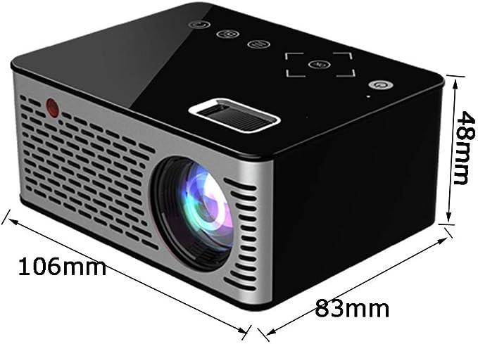 Proyector portátil, proyector de Cine en casa para niños HD Mini ...