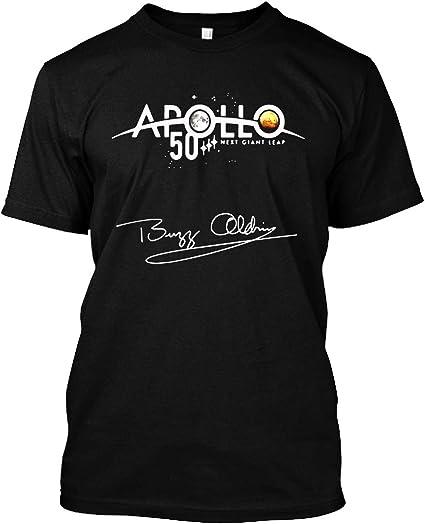 NASA Approved Apollo Next Giant Leap 50th Logo Short Sleeve T-Shirt