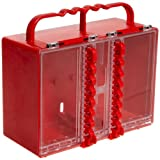 Brady Portable Group Lock Box, Plastic