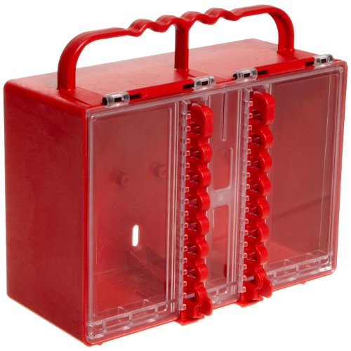 Brady Portable Group Lock Box, Plastic by Brady