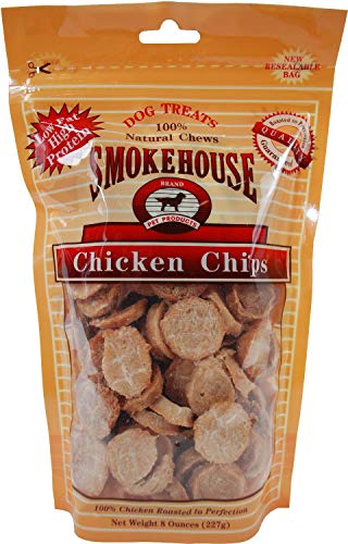 Smokehouse Chicken Chips Dog Treats, 8 Ounce, 2 Pack