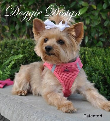CHOKE FREE REFLECTIVE STEP IN ULTRA HARNESS - PINK - ALL SIZES - AMERICAN RIVER (Small) by Doggie Design ()