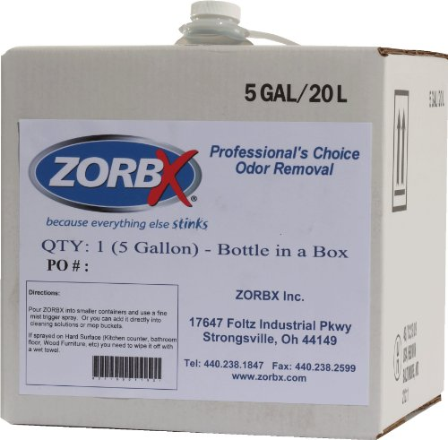 Zorbx - 5 Gallon Unscented Odor Remover by ZORBX