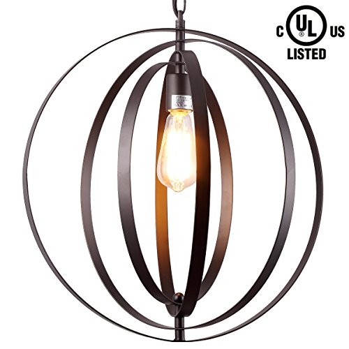 Brown Pendant Light