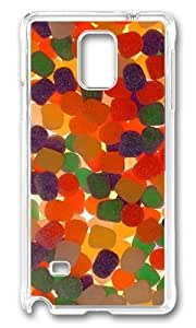 Adorable Gum Drops Hard Case Protective Shell Cell Phone HTC One M7 - PC Transparent