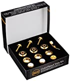 Bach Stradivarius Trumpet Gold Trim Kit With Standard Bottom Caps