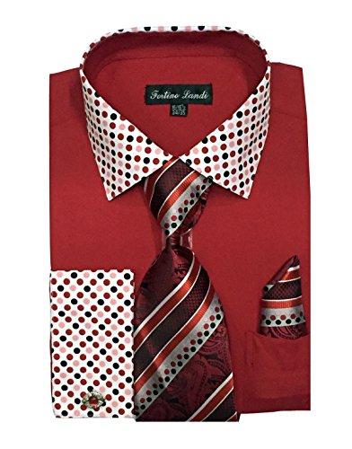 khaki and red dress - 9