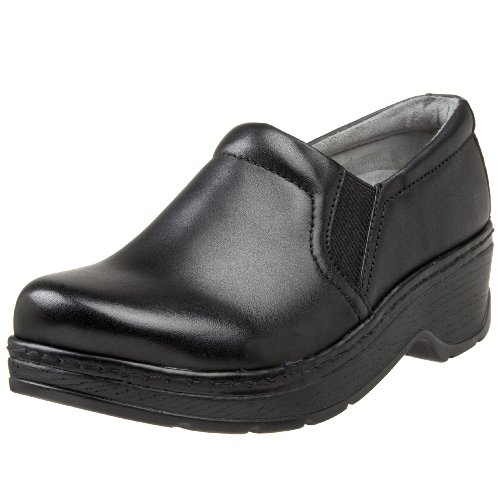 Klogs Unisex Naples Black Leather Shoes - 13 W (E) by Klogs