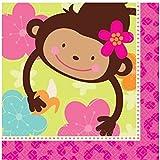 Amscan International Monkey Love Luncheon