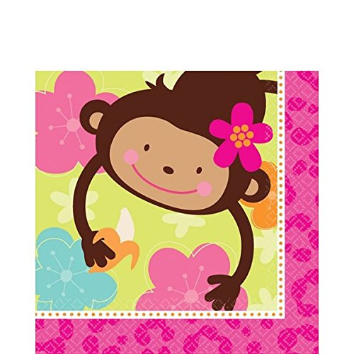 Luncheon Napkins | Monkey Love Collection | Party