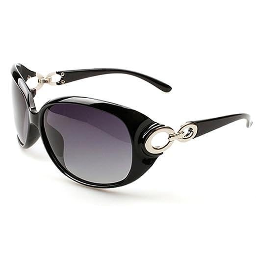 c7e80cfff0 Asatr Classic Women Oversize Cat Eyes Sunglasses Polarized Sunglasses 400  UV Protection at Amazon Women s Clothing store