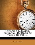 Le Droit À la Paresse, Paul Lafargue, 1273779886