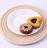 6 Pcs Large Coaster For Drink Absorbent Dining