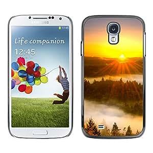 Paccase / SLIM PC / Aliminium Casa Carcasa Funda Case Cover - Sunset Beautiful Nature 43 - Samsung Galaxy S4 I9500