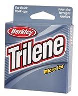 Berkley Trilene Micro Ice Fishing Line 110 Yd Spool