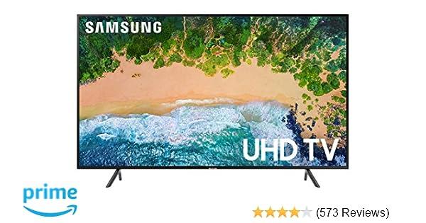 Amazon.com  Samsung UN43NU7100FXZA Flat 43
