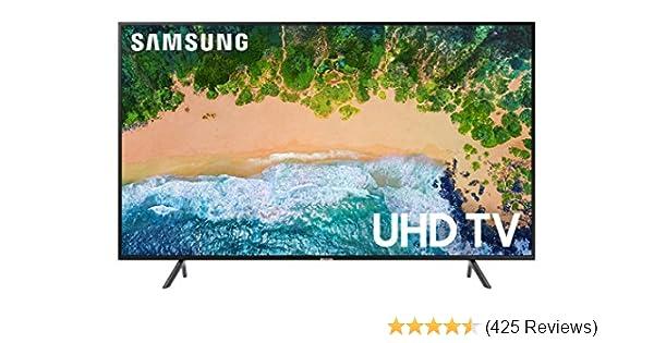 """Samsung 7 Series NU7100 50"""" - Flat 4K UHD Smart LED TV (2018)"""