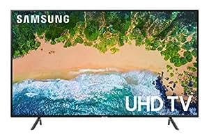 amazon com samsung 55nu7100 flat 55 u201d 4k uhd 7 series smart tv 2018 rh amazon com