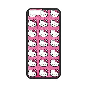iPhone 6 Case, [hello kitty] iPhone 6 (4.7) Case Custom Durable Case Cover for iPhone6 TPU case(Laser Technology)