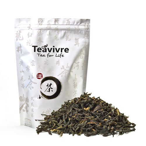 Teavivre Organic Lapsang Souchong Smoky Black Tea Loose Leaf Chinese Tea (3.5oz/100g)